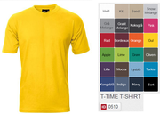 T-Time T-Shirt 100% bomuld