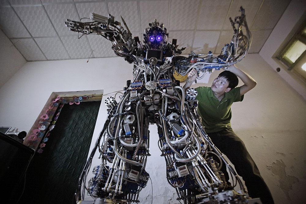 Роботы как сделать в домашних условиях