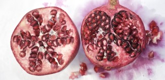 How many beans has a pomegranate?