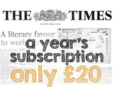 The Times Student Subscription