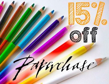 Paperchase Discount 15% off