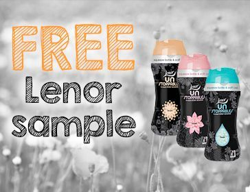 Free Lenor sample