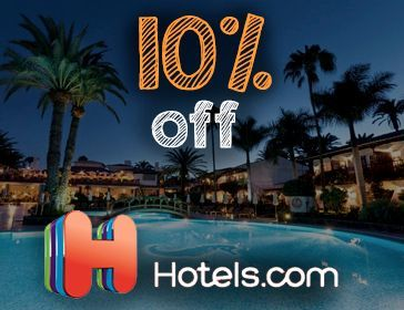 Hotels.com 10% off discount