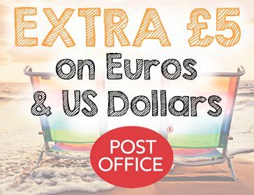 Extra £5 Travel Money