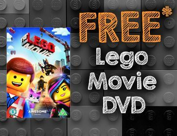 Free Lego Movie DVD