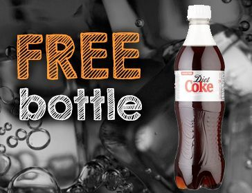Free Bottle Coke Coca Cola