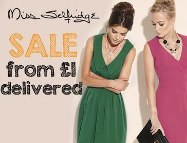Miss Selfridge Sale Code
