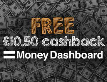 Top Cashback Money Dashboard