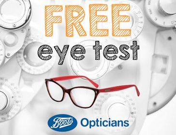 Free Eye Test Boots Opticians