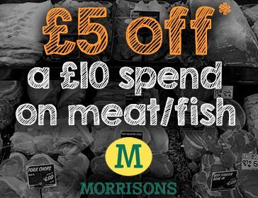 Money off Morrisons Meat Fish