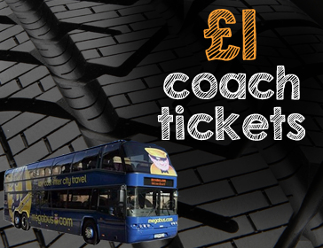 5. Megabus discount codes are infrequent because the prices are already so low. If you're lucky enough to have one, finish choosing your ticket and head to checkout. Click the purple