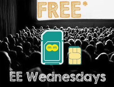 EE free Orange Wednesdays