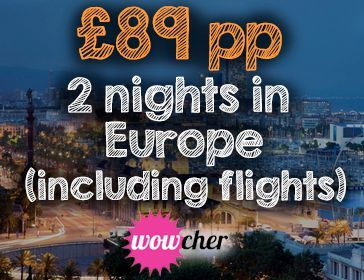 Wowcher Cheap Holiday Offer