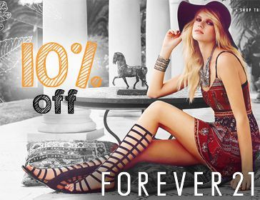 F21 Student Discount Code