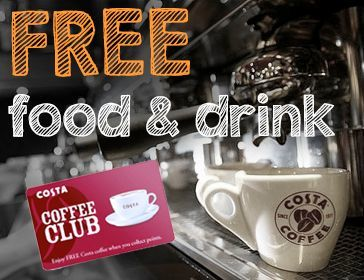 Costa Free Food & Drinks Offer