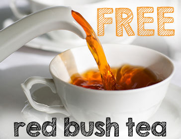 free red bush tea