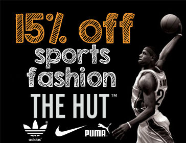the hut sport discount