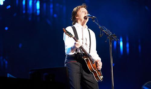 Paul McCartney Chile