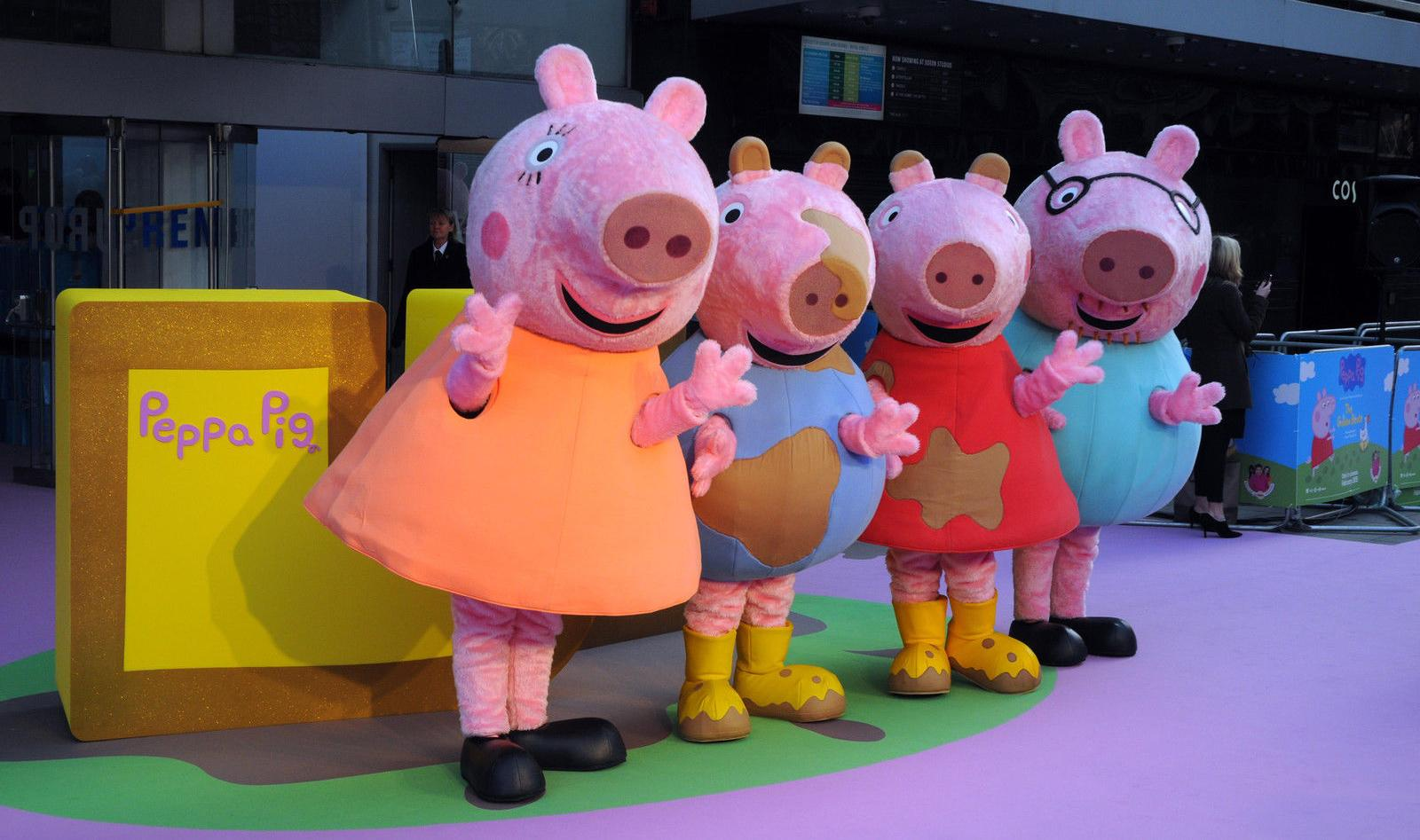 Peppa Pig Hong Kong peppa pig peppa s london day out sticker activity