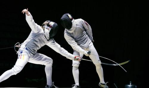 Fencing Men's Team Epee Olympic Games Rio 2016 - Morning