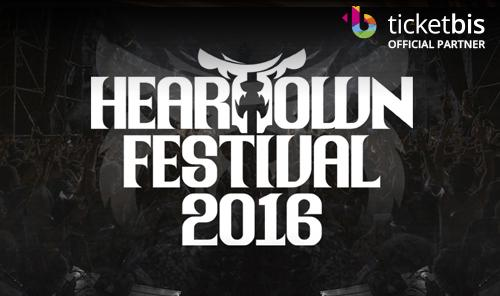 Heartown Festival 2016 Taichung - 2 day pass