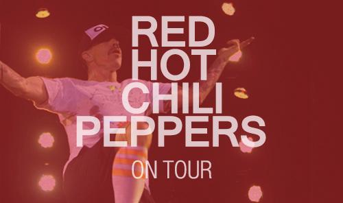 Red Hot Chili Peppers Paris