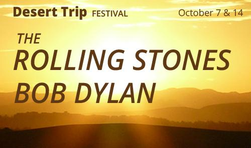 Desert Trip Rolling Stones and Bob Dylan - weekend 2