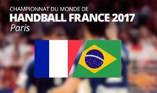 France vs Brazil - IHF Men's Handball World Championship 2017