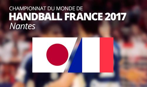 Japan v France  IHF Men's Handball World Championship 2017