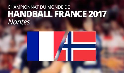 France vs Norway  IHF Men's Handball World Championship 2017