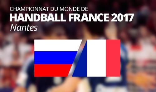 Russia vs France  IHF Men's Handball World Championship 2017
