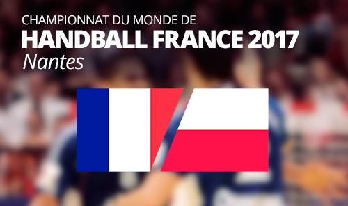 France vs Poland  IHF Men's Handball World Championship 2017