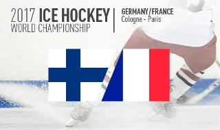 Ice Hockey World Cup 2017  - Finland vs France