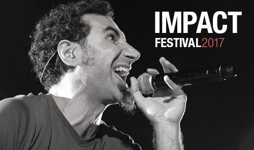 System Of A Down - Impact Festival 2017 Cracow