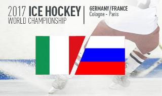 Ice Hockey World Cup 2017  - Italy vs Russia