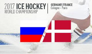 Ice Hockey World Cup 2017  - Russia vs Denmark