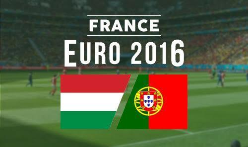 Hungría vs Portugal - Eurocopa 2016