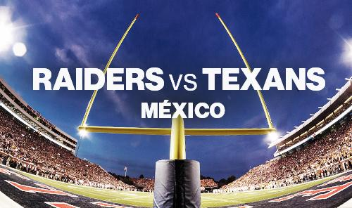 NFL México - Raiders vs Texans
