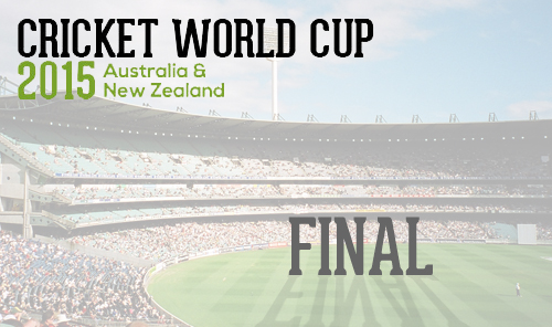 Cricket World Cup 2015 - Final