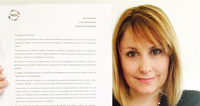 emprendedoras-espana-carta-diputados
