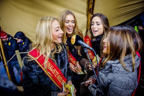 Miss belgië kandidates kondigen hun actie aan c vrt thomas geuens
