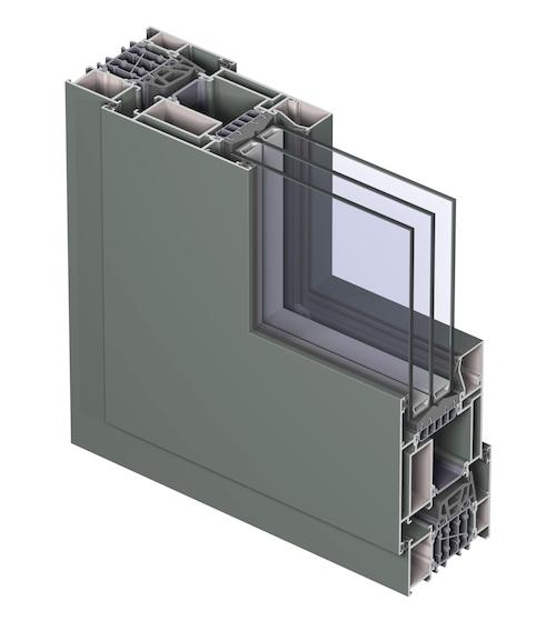 Reynaers cs 86 hi brings super insulation performance Super insulated windows