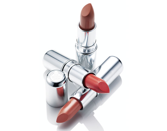 body shop lipsticks