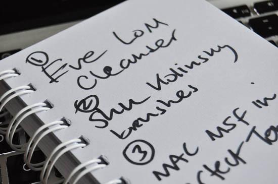 want list