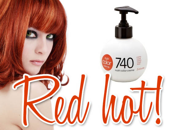 red hair - Nutri Color