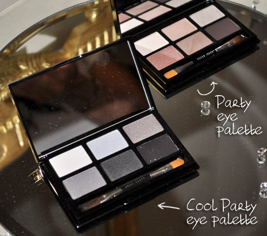 bobbi brown christmas 2011 party eye palettes