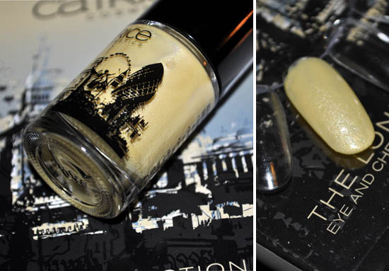 catrice yellow london nail polish