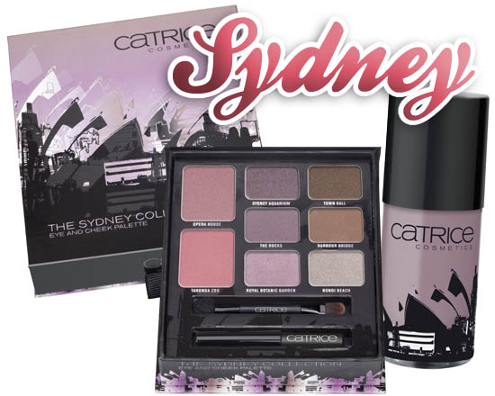 Catrice big city palette  - sydney
