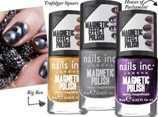 nails inc magnetic polishes