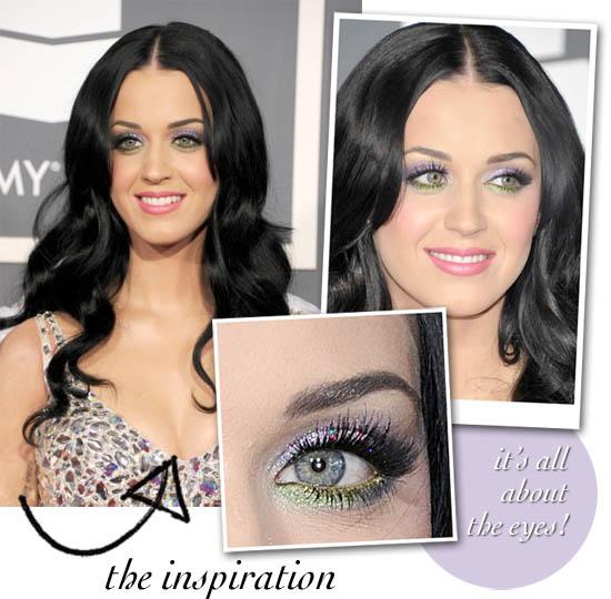 katy perry Grammys 2011 makeup